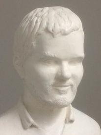 Skulptur, Portrait, Büste modellieren, Plastik