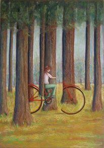 Zeichnungen, Fahrrad