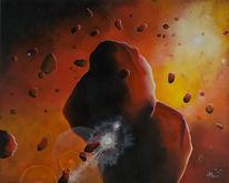Planet, Universum, Malerei