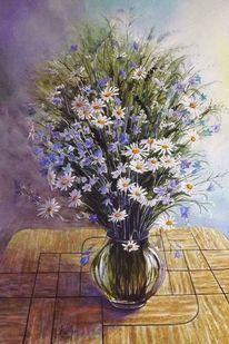 Glockenblumen, Schloßau, Blumen, Feldblumen
