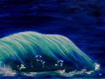 Türkis, Meereswelle, Wasser, Landschaft