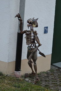 Kunst aus schrott, Metallkunst, Steinheim am albuch, Sontheim im stubental
