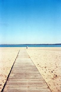 Strand, Wasser, Blau, Fotografie