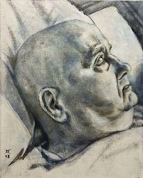 Gesicht, Kopf, Augen, Malerei