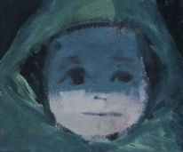 Kind, Blick, Malerei