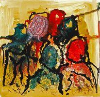 Köpfe köpfe versammlung, Malerei