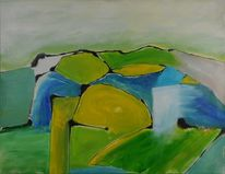 Grün, Styrian summer art, Blau, Frühling