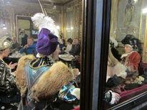 Kostüm, Visier, Karneval, Cafe