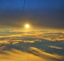Sonne, Fliegen, Wolken, Fotografie