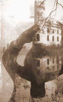 Burg, Selbstportrait, Bau, Fotografie