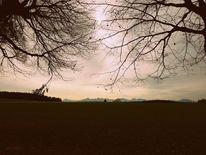 Berge, November, Natur, Herbst