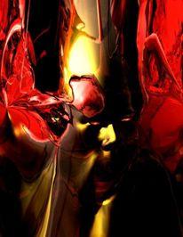 Geisterhaft, Licht, Schatten, Digitale kunst