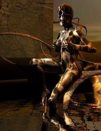 Digital, Fantasie, Sammler moderne kunst, Digitale kunst