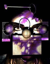 System, Philosophie, Blender, Digital art