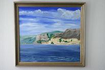 Malerei, Landschaft, Farben, Griechenland