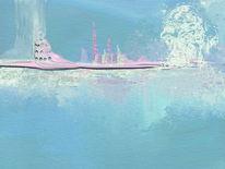 Abstrakt, Gedankenflut, Malerei