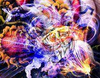 Blitz, Spuren, Fraktalkunst, Digitale kunst