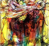 Luft, Malerei