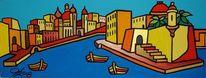 Senglea, Birgu, Valletta, Malerei