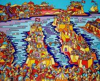 Kreuzzug, Malta, Birgu, Malerei
