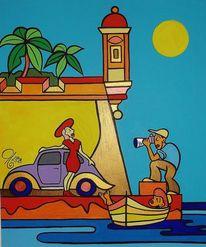 Malta, Senglea, Fotografie, Malerei