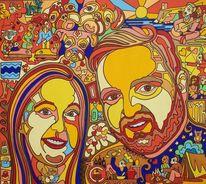 Malta, Hochzeit, Freude, Malerei