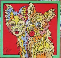 Hund, Koeter, Malerei