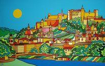 Salzburg, Burg, Hohensalzburg, Malerei