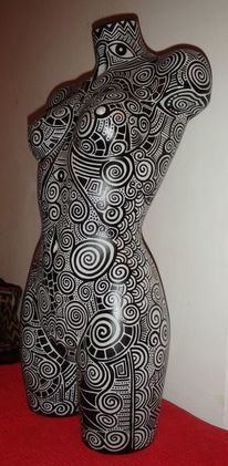 Tribal, Tattoo, Malta, Body painting