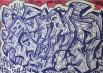 Hiphop, Graffiti, Stil, Kalligrafie