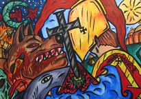 Wolf, Kreuzzug, Glaube, Kreuz
