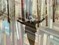Geräuschkulisse, Ruhe, Bücher, Weg