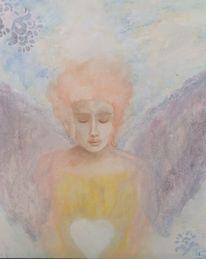 Frieden, Portrait, Engel, Liebe