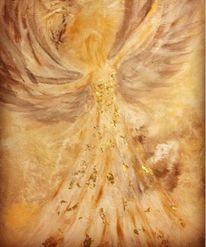 Gold, Frieden, Engel, Liebe