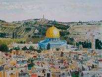 Moschee, Felsendom, Jerusalem, Klagemauer