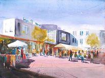Markt, Menschen, Shoppen, Einkaufszentrum