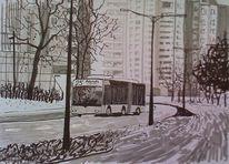 Citybus, Stadt bremen otto, Hochhaus, Allee