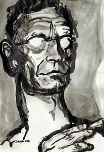 Ausstellung, Hermann hesse, Nikolaus pessler, Portrait