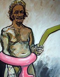 Bumerang, Portrait, Dalí, Lustig
