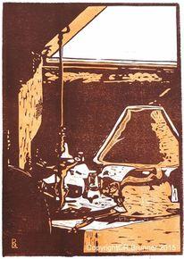 linolschnitt 653 bilder und ideen auf kunstnet grafik linol und hochdruck. Black Bedroom Furniture Sets. Home Design Ideas