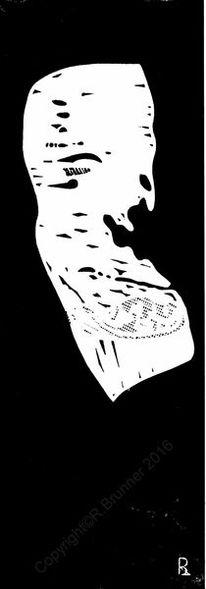 Druckgrafik, Grafik, Seh, Linolschnitt