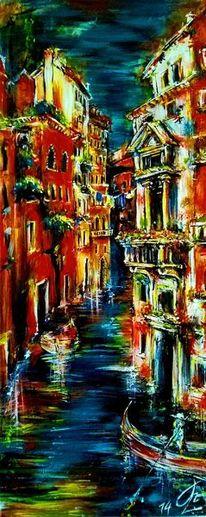 Lagunenstadt, Schiff, Stadt, Venedig
