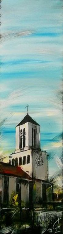 Kirche, Linz, Friedenskirche, Malerei