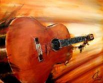 Klassik, Instrument, Gitarre, Spielen