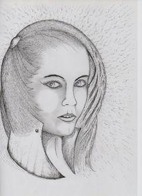 Engel, Portrait, Frau, Gesicht