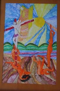Malerei, Heiligen, Versuchung