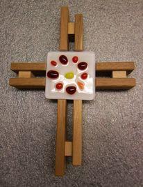 Glas, Fusing, Glaskreuz, Kreuz