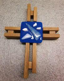 Glas, Kreuz, Glaskreuz, Fusing
