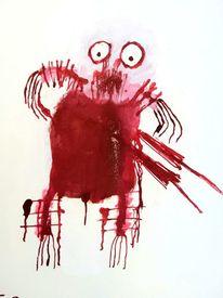 Outsider art, Psychiatrie, Artbrut, Malerei