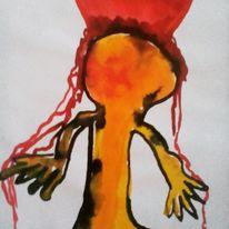 Hände, Schmerz, Augen, Zeichnungen